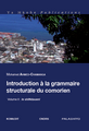 Introduction à la grammaire... du comorien Volume 2